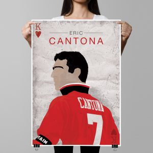 Eric Cantona – Manchester United – Poster