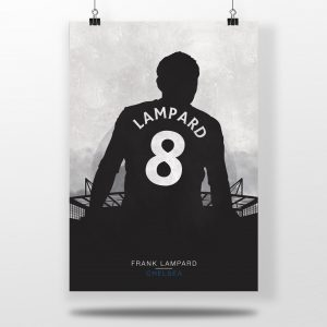 Frank Lampard – Chelsea – Poster