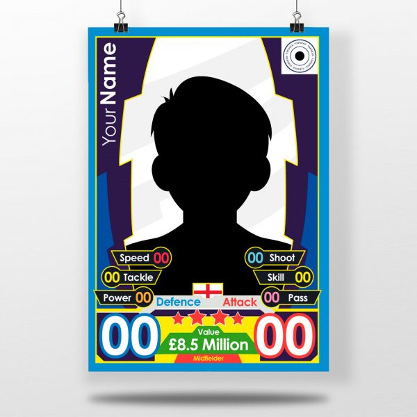 MATCH ATTAX custom poster