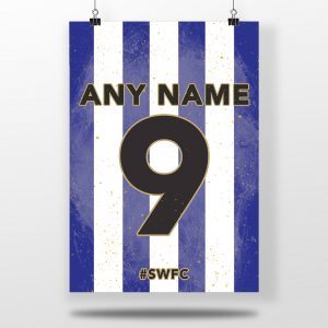 Sheffield Wednesday F.C. Home Shirt Print