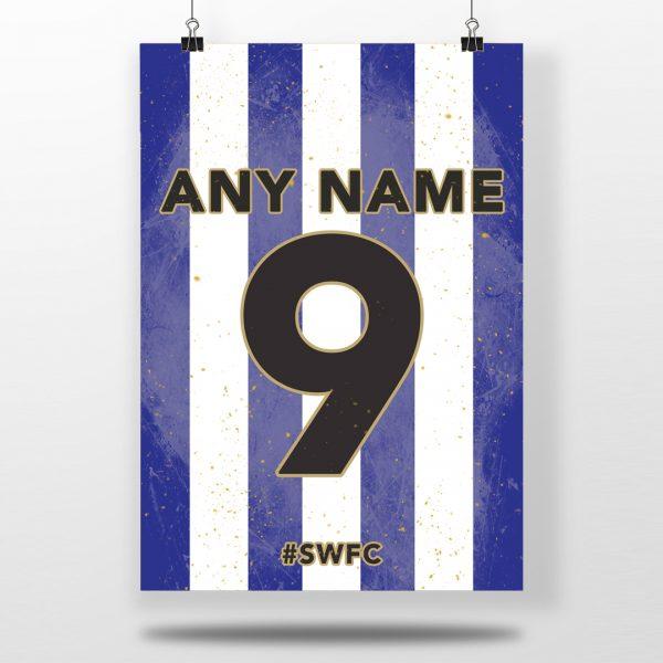 Sheffield Wednesday F.C. Home Shirt Print