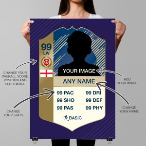 FIFA 2018 Legend Card – Fully Customised Poster