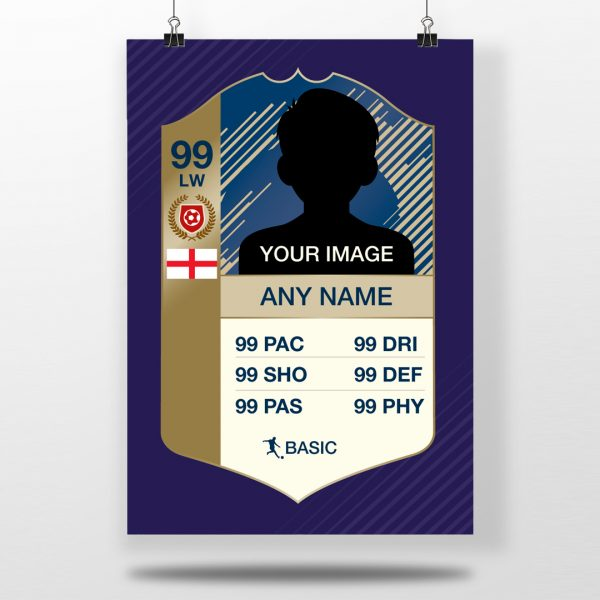 Fifa Ultimate Team Card Poster