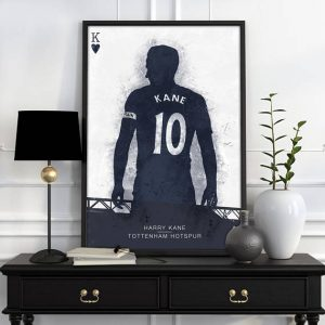 Harry Kane Poster – Tottenham Hotspur Wall Art