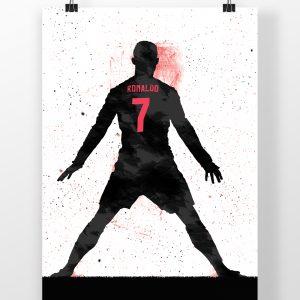 Cristiano Ronaldo – Real Madrid – Poster