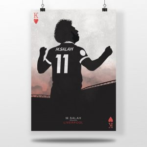 Salah The King – Liverpool FC Poster