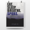 Tottenham Hotspur Football Poster
