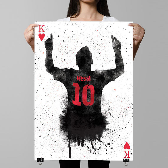 lionel messi poster