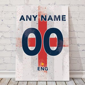 England classic football shirt poster