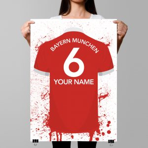 Bayern Munich Football Posters – Football Posters – Personalised Football Poster