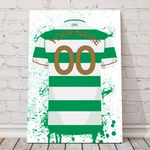 Celtic Football Posters – Personalised Football Poster – Celtic Posters