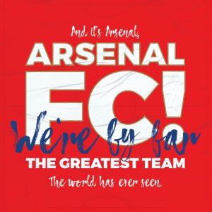 Arsenal Football Poster (Chant)