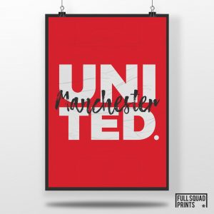 Manchester United Poster Print