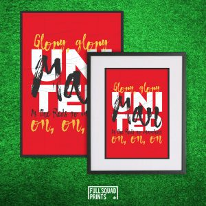 Manchester United Poster Chant