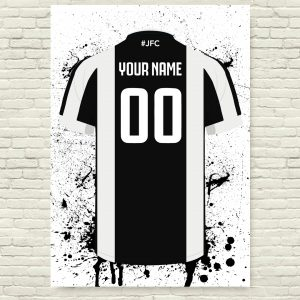 Juventus Football Posters – Football Posters – Personalised Football Poster