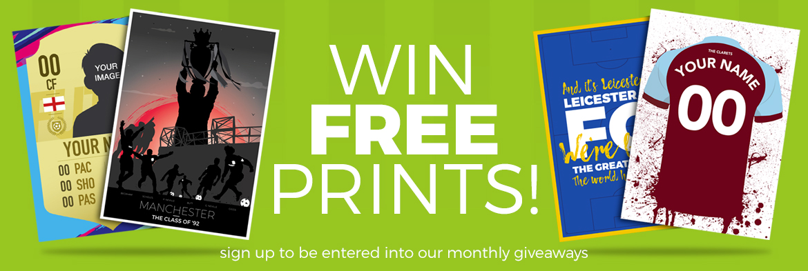 Win free poster and prints