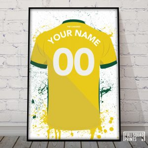 Personalised Norwich City prints
