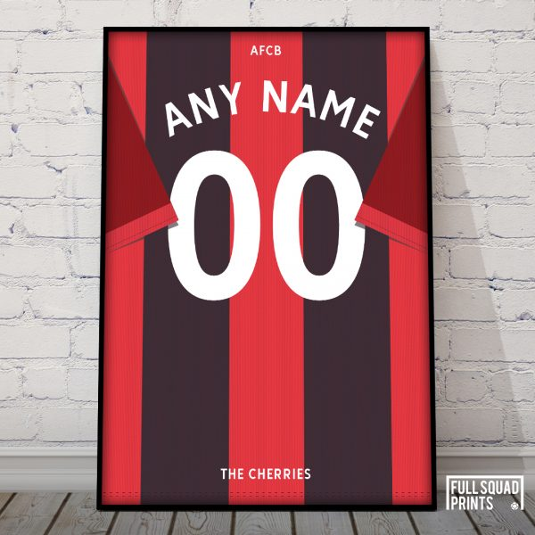 Personalised Bournemouth poster