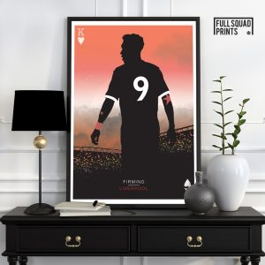 Firmino Liverpool Poster
