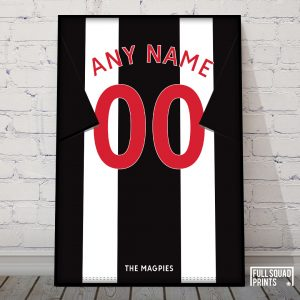 Personalised Newcastle Poster
