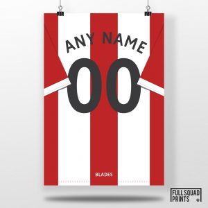 Personalised Sheffield Poster