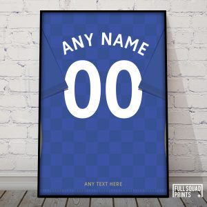 Personalised Leicester shirt print