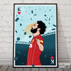 Mo Salah Poster – The Egyptian King of Hearts