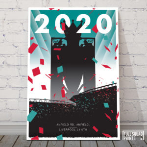 Liverpool gifts and posters Champions 2020