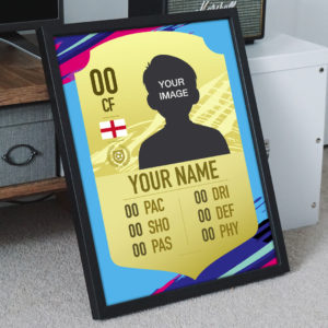 Make Your Own Fifa Card | Personalised FIFA Rare Gold Card