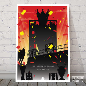 Manchester United Poster – The Theatre Of Dreams